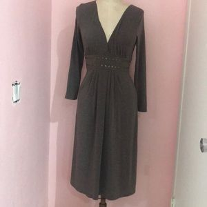 Bcbg long sleeve dress